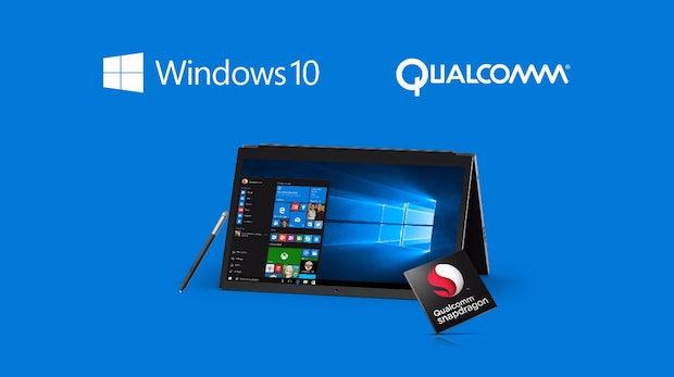 Für dünne, lüfterlose Geräte: Microsoft kündigt Windows 10 für Snapdragon-Prozessoren an