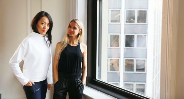 Die Naday-Gründerinnen Meg He und Nina Faulhaber. (Foto: Aday)