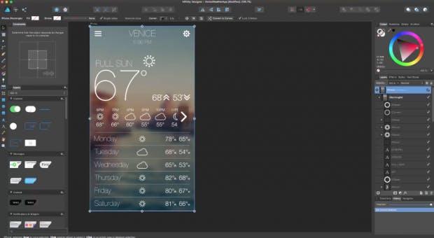 (Screenshot: affinity.serif.com)