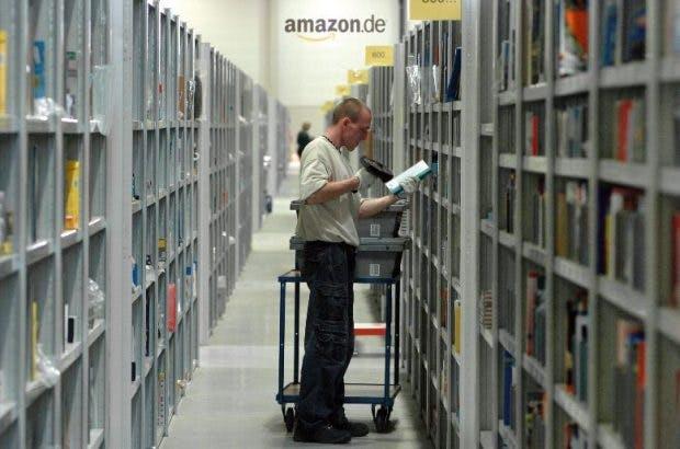 Auch in deutschen Logistikzentren von Amazon kämpfen Mitarbeiter um höhere Löhne. (Foto: Amazon)