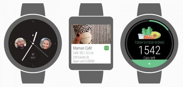 Das Update auf Android Wear 2.0 bringt unter anderem Stand-alone-Apps, die unabhängig vom Smartphones funktionieren. (Bild: Google)