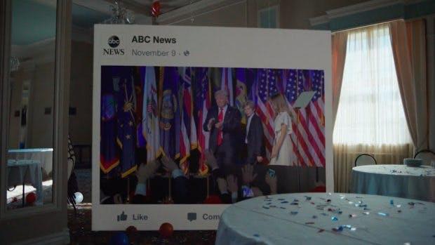 Facebook 2016: Der US-Präsidentschaftswahlkampf war in Deutschland und weltweit das am meisten diskutierte Thema auf der Plattform. (Screenshot: Facebook)