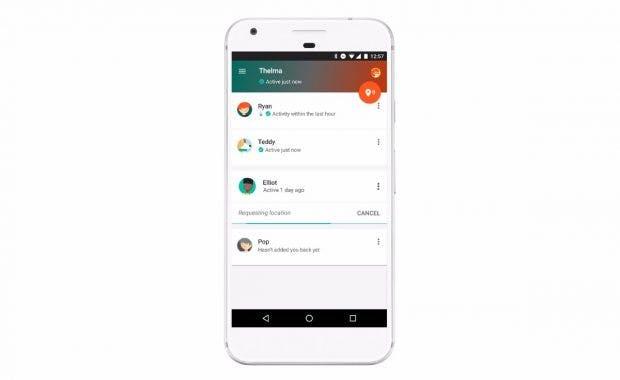 """""""Vertrauenswürdige Kontakte"""": Über die Google-App könnt ihr euren Aufenthaltsort mit euren Freunden oder eurer Familie teilen. (Grafik: Google)"""
