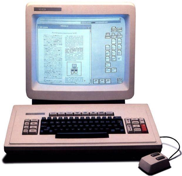 """Der Xerox Star 8010 """"Dandelion"""" von 1981. (Foto: Digibarn Computer Museum, CC-Lizenz)"""