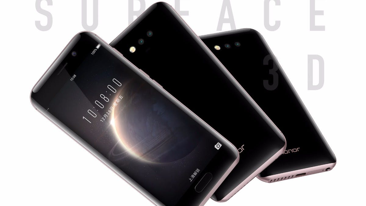 Honor Magic: Edle Smartphone-Flunder mit Eye-Tracking und smarten Features