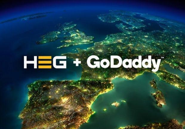 Mit der Übernahme von Host Europe will Godaddy sein Engagement in Europa stärken. (Grafik: Godaddy / Host Europe Group)
