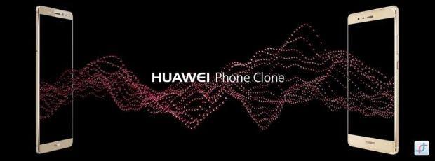 Huawei Phone Clone –Daten zwischen altem und neuem Smartphone austauschen. (Bild: Huawei)