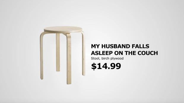 Retail Therapy: Warum Ikea seine Produkte nach Beziehungsproblemen benennt