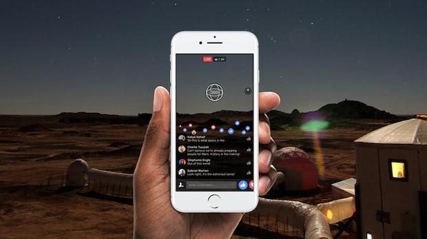 VR in Echtzeit: Facebook startet Live 360