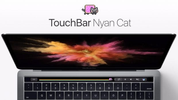 Touch-Bar Nyan-Cat. (Bild: Vatsaev Aslan)