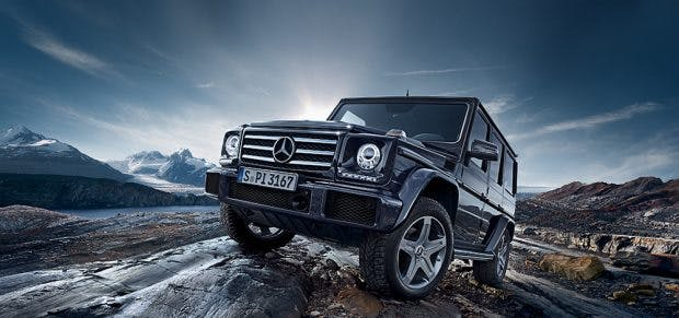Mercedes G-Klasse bekommt Elektro-SUV-Nachwuchs. (Bild: Mercedes)