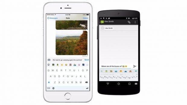 Minuum – das etwas andere Android-Keyboard. (Bild: Minuum)