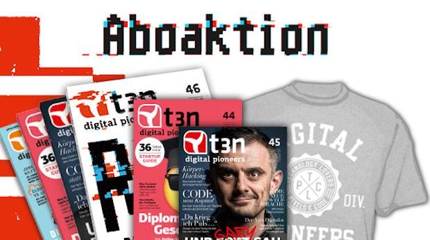 6 statt 4: t3n Nr. 44 und 45 gratis zum t3n-Abo!
