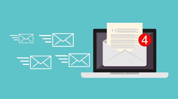 Produktiver sein: 5 wichtige Regeln zum Umgang mit der E-Mail-Inbox