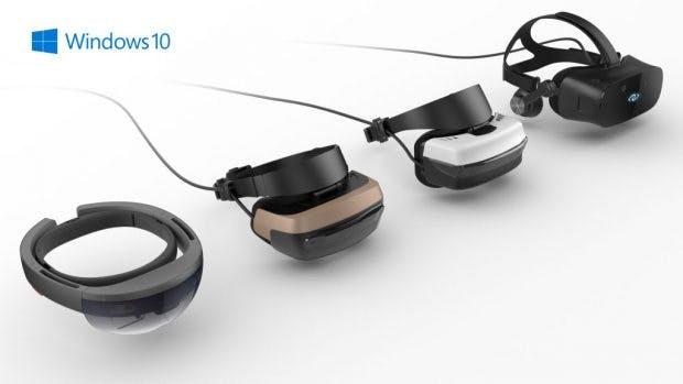 Support für Mixed-Reality-Headsets sind ebenso Bestandteil von Project Evo. (Bild: Microsoft)