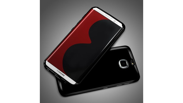 "Case-Leak: So könnte das Samsung Galaxy S8 aussehen. (Bild: <a href=""http://www.mobilefun.co.uk/flexishield-samsung-galaxy-s8-edge-gel-case-solid-black-p62528.htm"">Mobilefun</a>, via <a href=""https://www.sammobile.com/2017/01/13/this-could-be-our-first-true-look-at-the-galaxy-s8s-design/"">Sammobile</a>)"