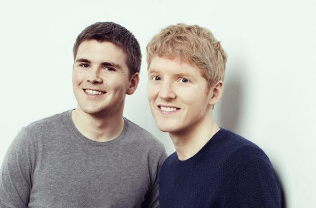 Einer wie der andere Selfmade-Milliardär: Stripe-Gründer und Brüder John (links) und Patrick Collison. (Bild: Stripe)