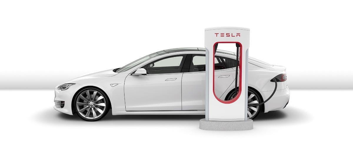 Bitcoin-Mining: Dieser Tesla-Fahrer schürft mit Gratis-Strom aus dem Supercharger