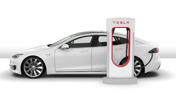 Tesla: Parken am Supercharger kostet 35 Cent pro Minute