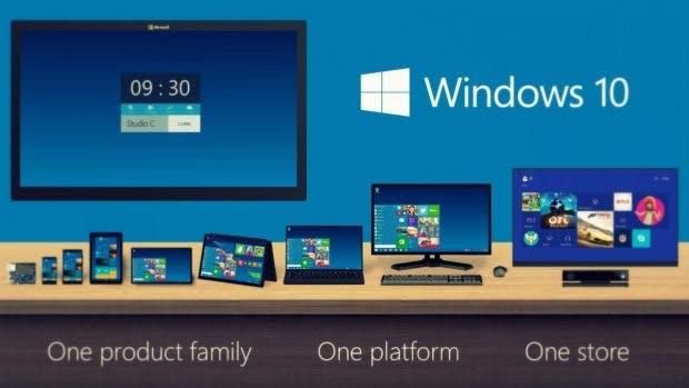 Windows 10 soll eine Plattform für alle Formfaktoren sein. (Bild: Microsoft)