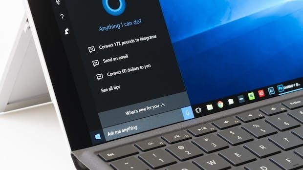 Cortana bekommt einen zentralen Platz im Betriebssystem