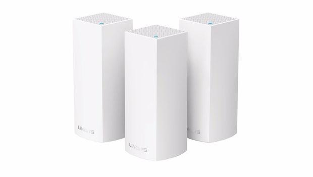 Linksys Velop: Mesh-WLAN-Router gibt es optional im Dreier-Pack. (Bild: Linksys)