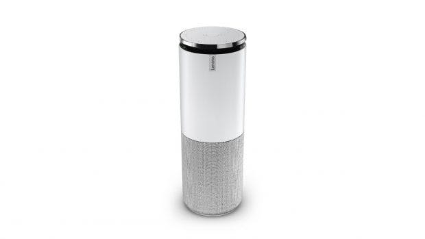 Smart Assistant: Lenovos Echo-Alternative soll es in verschiedenen Farben geben. (Foto: Lenovo)