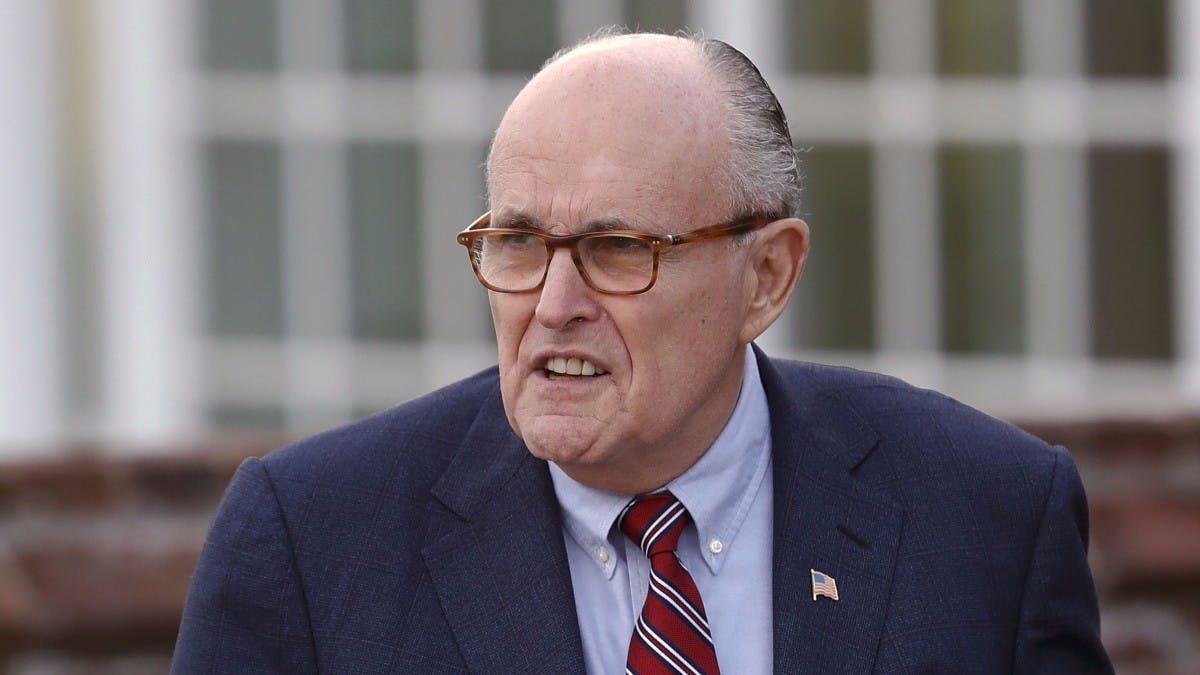 Rudy Giuliani: Trumps neuer Cyber-Sicherheitsberater betreibt extrem unsichere Website
