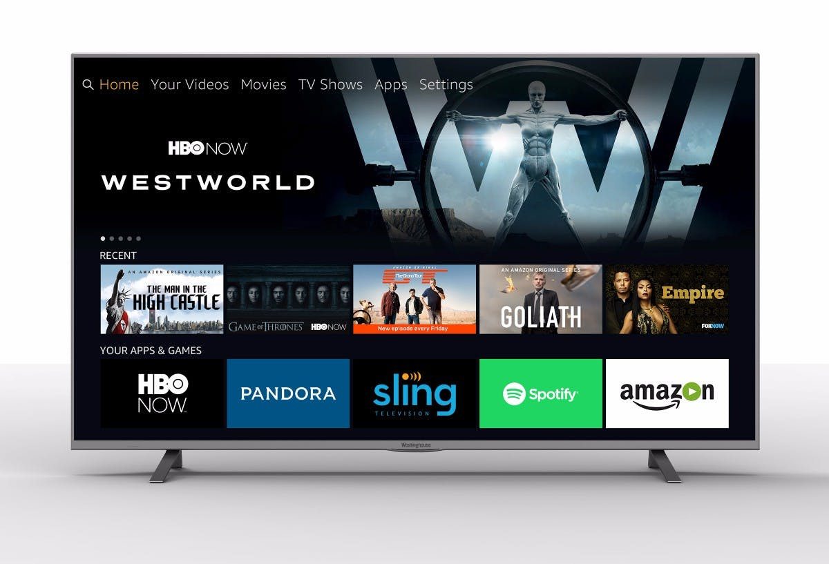 Alexa an Bord: Amazon hat bald auch Fernseher mit Fire OS im Angebot. (Bild: Tongfang)