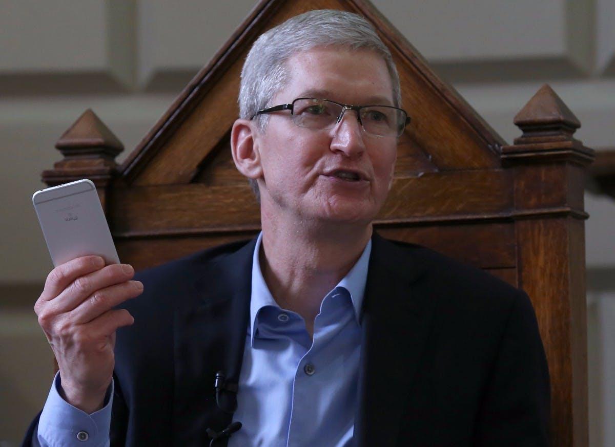 """Apple-Chef Tim Cook: """"Das Steuersystem ergibt keinen Sinn"""""""
