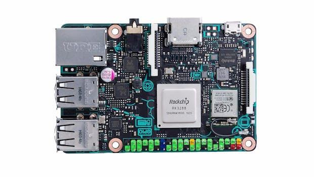 Asus Tinker-Board. (Bild: Asus)