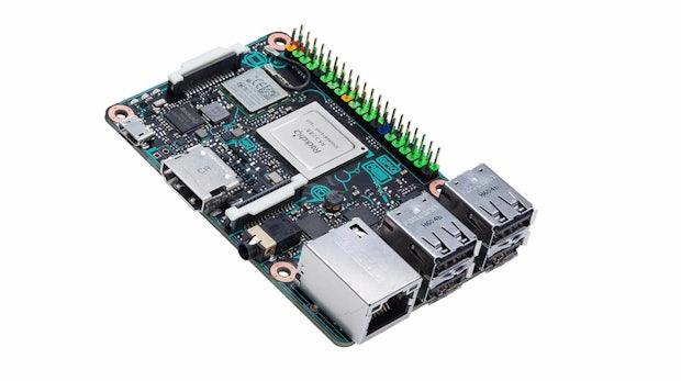 Asus Tinker-Board: Raspberry-Pi-Konkurrenz mit 4K-Video-Support