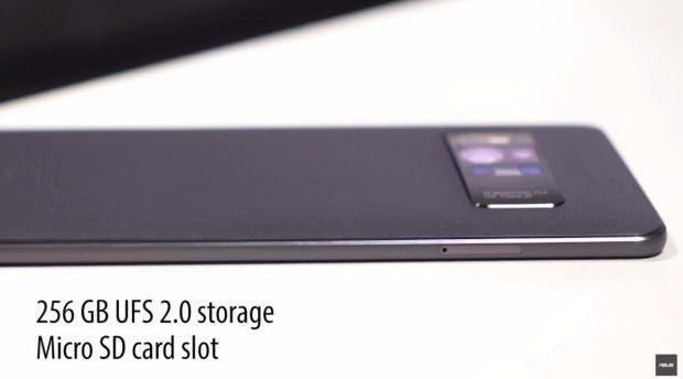 Viel Platz für Apps, Daten und Spiele: Das Asus Zenfone AR besitzt 256 Gigabyte UFS-2.0-Speicher. (Foto: Asus)