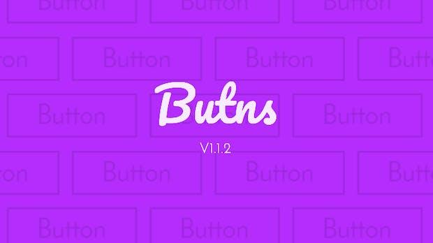 Butns – Schicke Schaltflächen aus reinem CSS