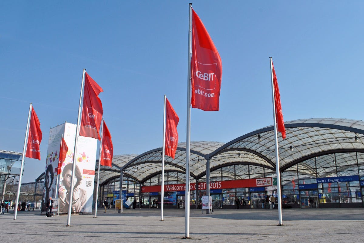"""Forget everything you knew about Cebit"": Die Computermesse wird zum Event"
