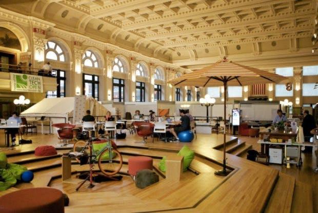 Moderne Co-Working-Spaces in historischen Gebäuden: CoCo – Minneapolis.