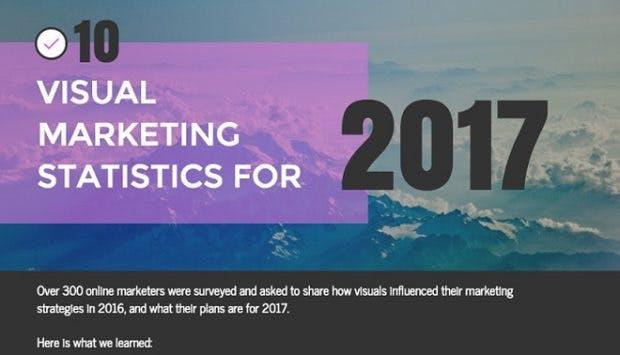 Content-Marketing: Visuelle Inhalte werden im wichtiger. (Grafik: Venngage)