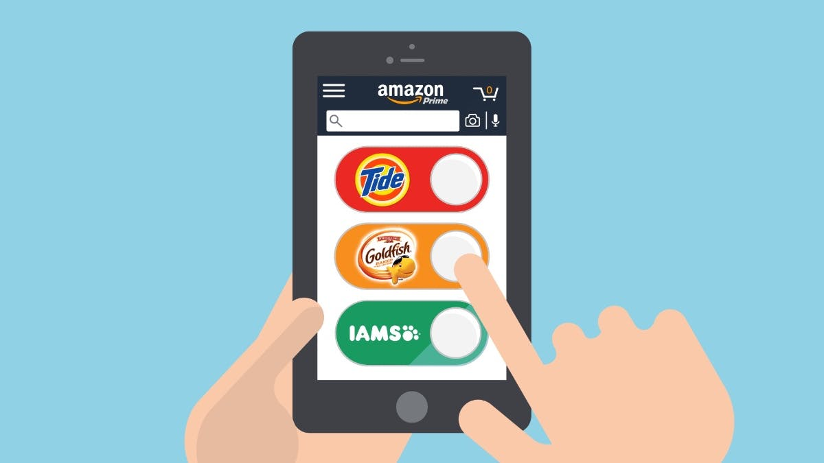 Bestellknopf auf dem Smartphone: Amazon macht Dash-Buttons virtuell