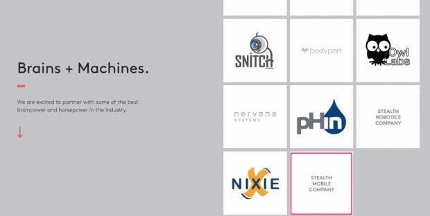 "Ob das ""Stealth Mobile Company"" Rubins Essential Products ist? (Screenshot: t3n)"