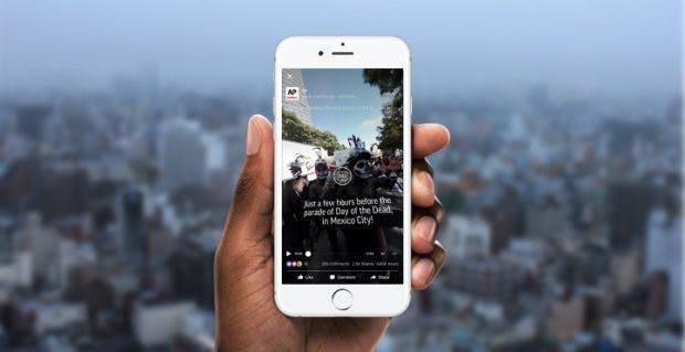 Facebook setzt immer stärker auf Videoinhalte. (Grafik: Facebook)