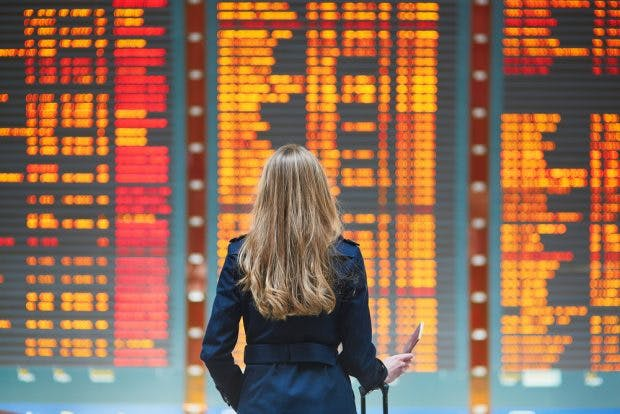 Flug verspätet oder ausgefallen? So bekommst du eine Entschädigung. (Foto: Shutterstock)