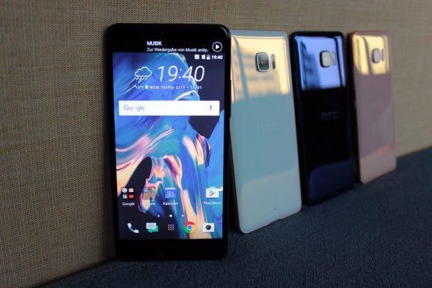 HTC U Ultra ist das erste High-End-Smartphone des Jahres. (Foto: t3n)
