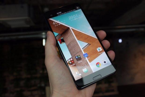 Das HTC U Ultra besitzt wie das HTC 10 einen Homebutton mit Fingerabdruckleser. Neu hingegen is das zweite Display. (Foto: t3n)