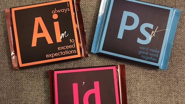 Leckerer Bewerbungshack: Diese Designerin verteilt Schokolade als Visitenkarte