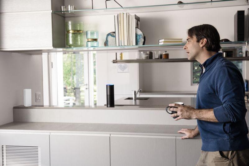Linksys Velop besitzt Alexa-Unterstützung. (Bild: Linksys)