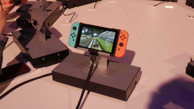 Nintendo Switch angezockt: Die ersten Eindrücke von der neuen Hybdrid-Konsole