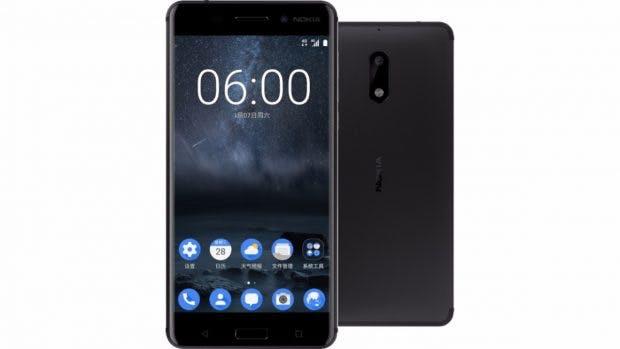 Außer dem schon vorgestellten Nokia 6 (Bild) wird mindestens noch ein Nokia 8 erwartet. (Bild: Nokia)