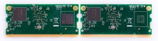 Raspberry Pi: Compute Module 3 und Compute Module 3 Lite. (Foto: Raspberry Pi Foundation)