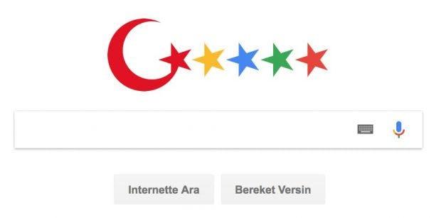 So könnte die türkische Google-Alternative aussehen. (Bild: Turkey Blocks/Twitter)