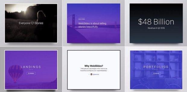 fr prsentationen landingpages und mehr webslides bringt eine ganze reihe von beispielen mit screenshot webslidestv - Powerpoint Prasentationen Beispiele